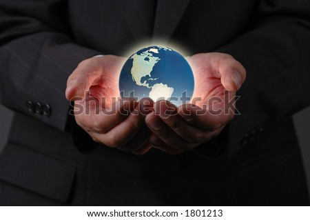 Our planet earth is in our hands