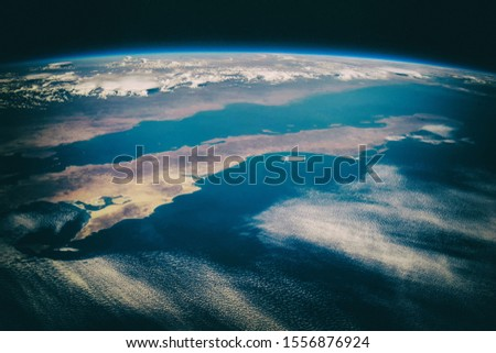 Our unique planet from space. The elements of this image furnished y NASA. Zdjęcia stock ©