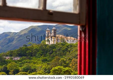 Ouro Preto city, Minas Gerais province, Brazil Foto stock ©
