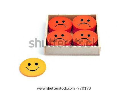 Out of the box - see portfolio for more smilies
