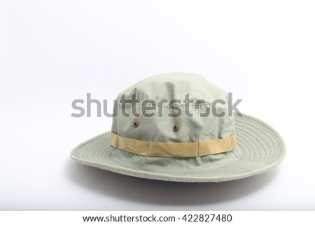 6ac3364d9 Man in safari hat isolated on white Images and Stock Photos - Page ...