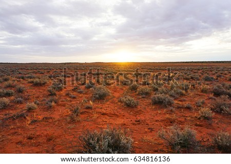 Shutterstock Outback South Australia, near Roxby Downs and Olympic Dam mine. Dry arid lands, with lots of red earth and sand-hills.