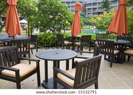 outdoor cafe #55532791