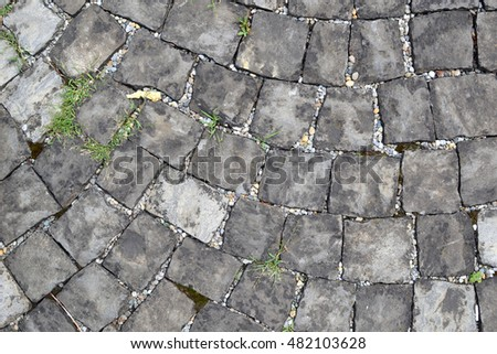 Old Paving Stones