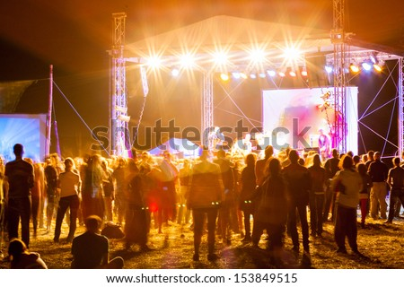 outdoor concert bright and loud 2