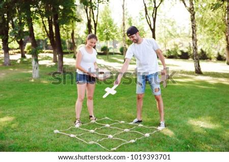 Outdoor games - Tic Tac Toe #1019393701