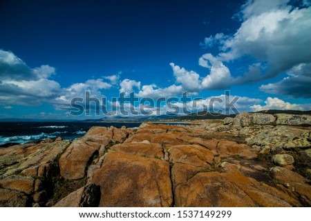 Outdoor Hicking  Rocks by the sea