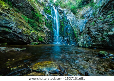 Outdoor Hicking  Rocks Waterfall Landscape