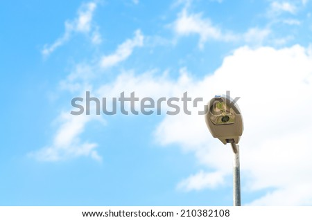 Outdoor Lamp with sky , Modern Lighting with sky outdoor