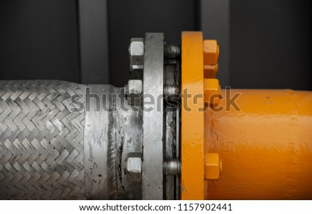 Outdoor natural gas connecting pipe flange     #1157902441