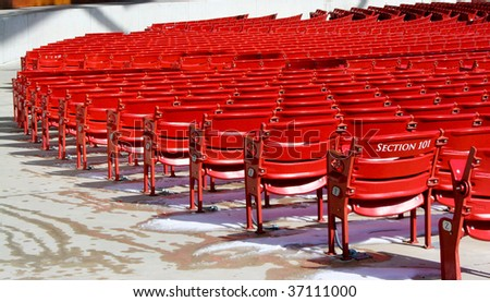 Outdoor stage seating