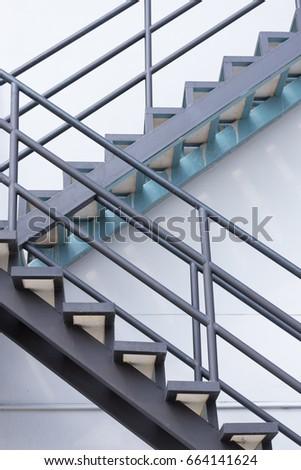 Outdoor Steel Stairs Of Factory Or Steel Sadder #664141624