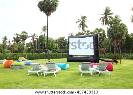 outdoor theater #457458310