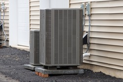 outdoor unit of the air conditioner cooling electric