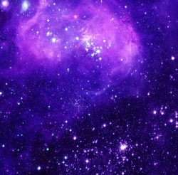 Outer Space - Elements of this Image Furnished by NASA