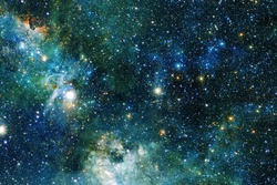 Outer space. Science fiction cosmos. Elements of this image furnished by NASA