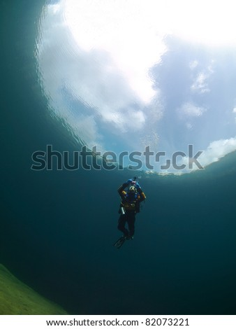 Outer space underwater