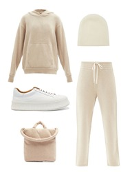 Outfit mood board aesthetic, cosy knitwear