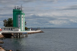 outport and maul from the side of the Baltiysk