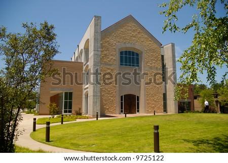 Outside of Church in Greenville, SC