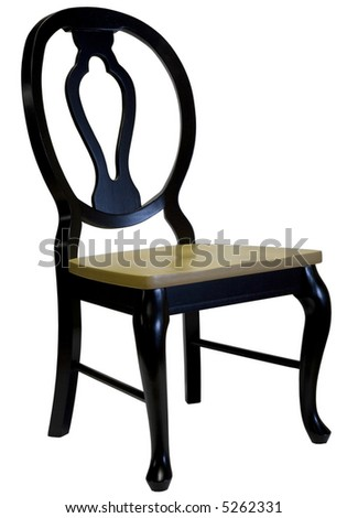 Black Lacquer Dining Chair - ShopWiki