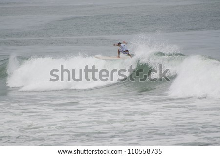 1st stage of National Longboard Championship 2012