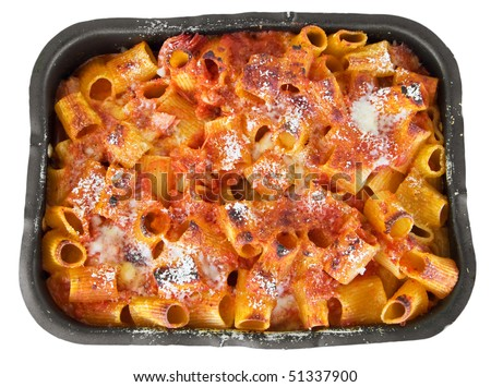 Oven Baked Pasta.