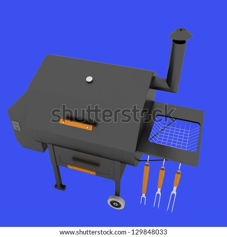 oven barbecue grill