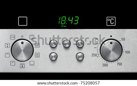 Oven Settings Panel