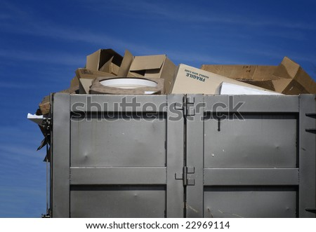 Over flowing garbage
