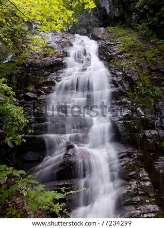 Overall Run waterfall is the highest waterfall in Virginia if its sections are taken into account.