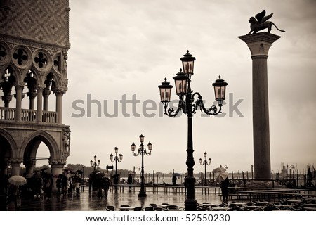 Overcast Day in Venice, Italy