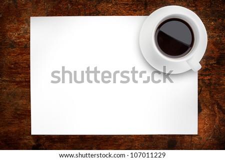 overhead coffee