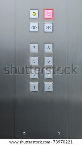 overload alert in elevator