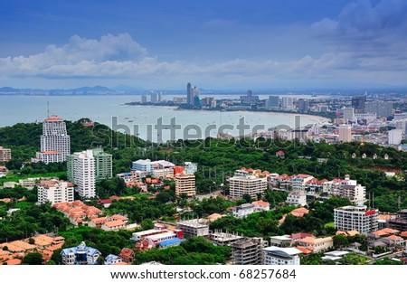 Overlooking the Pattaya City