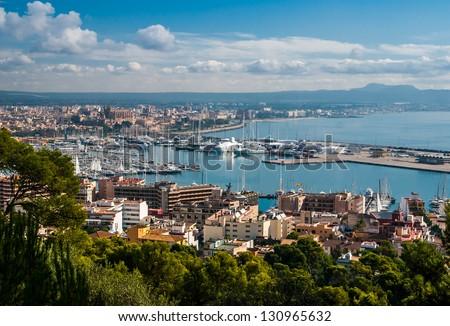 Overview of Palma de Majorca
