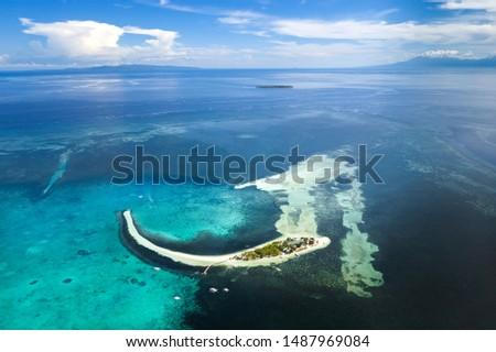 overview of Philippines Bohol island Virgin island #1487969084