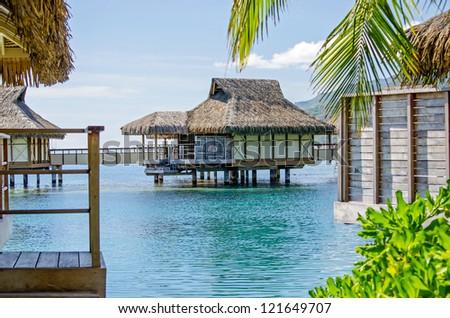 Overwater Bungalow, Moorea, French Polynesia