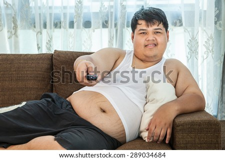 Big asian guy
