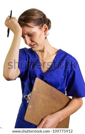 Overworked Doctor/Nurse