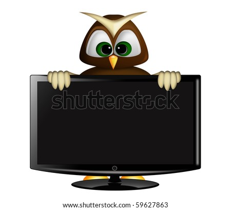 owl and tv