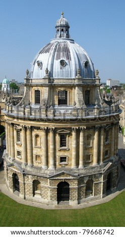 Oxford radcliffe camera, university library