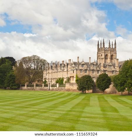 Oxford University playing fields