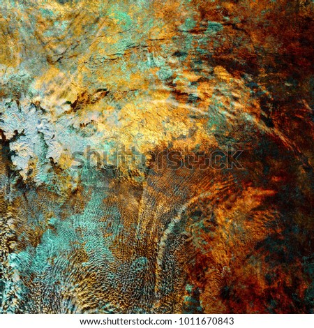Oxidized metal surface with rust details Foto d'archivio ©