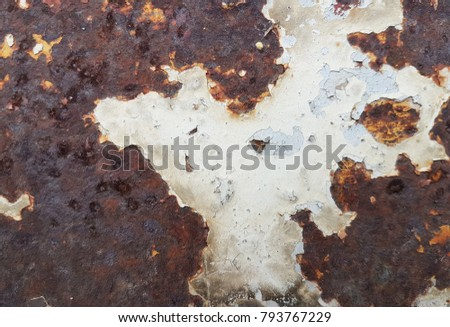 Shutterstock oxidized metal with crack textured of paint