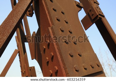 Shutterstock Oxidized rusty metal parts