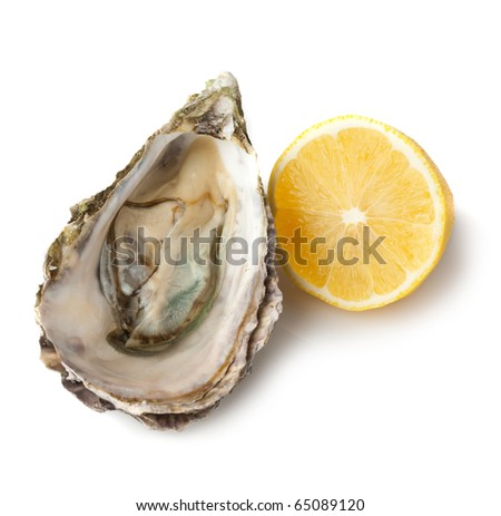 Oyster and lemon