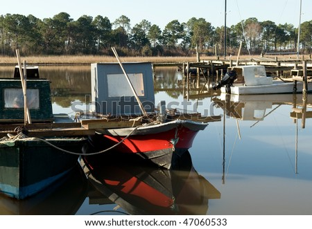 oyster boats, Florida panhandle