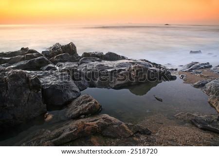 pôr-do-sol Foto stock ©