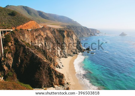 Pacific Coast Highway at Southern California #396503818